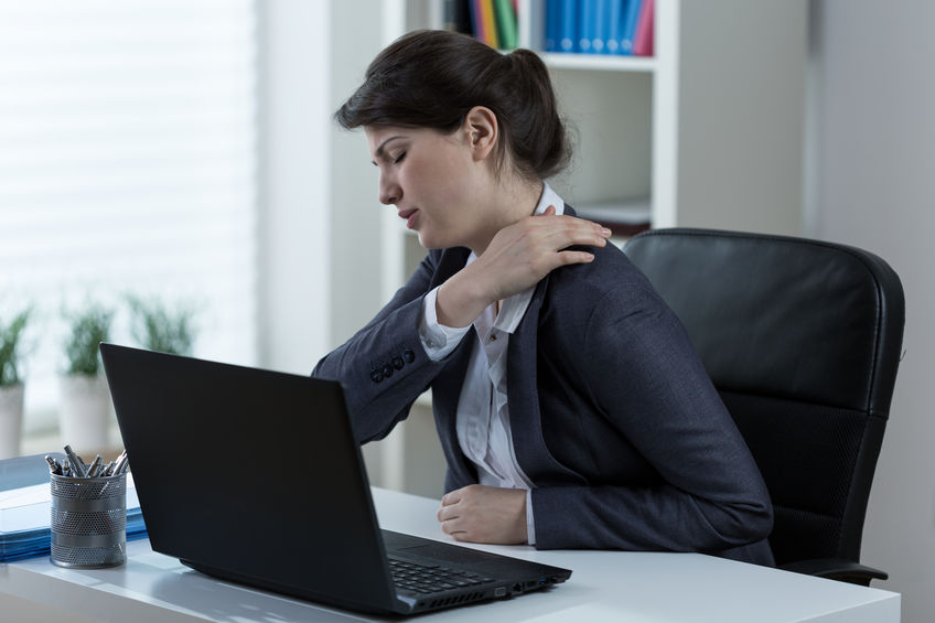 center for family medicine Set Up Your Workstation To Prevent Tech Neck Upper Back Pain